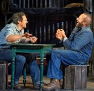 James Franco and Chris O'Down in 'Of Mice and Men'